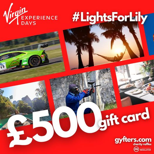 £500 Virgin Experience Voucher
