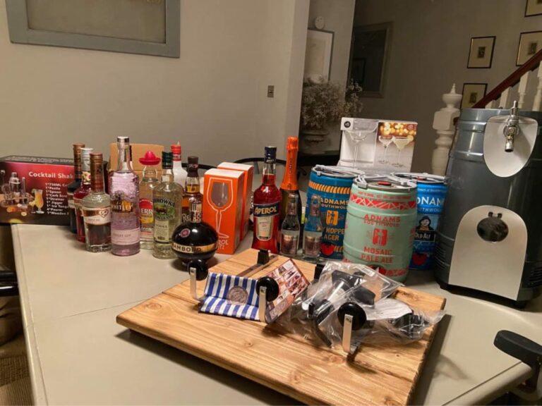£500 in booze